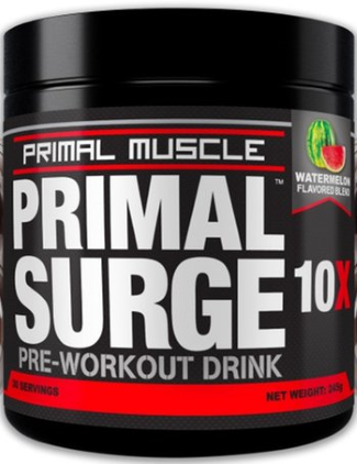 primal surge pre workout review